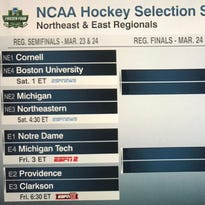 Cornell seeded third overall in NCAA Hockey Tournament