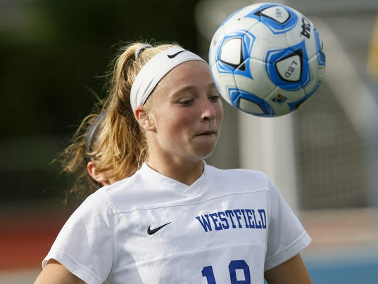 Cranford at Westfield girls soccer