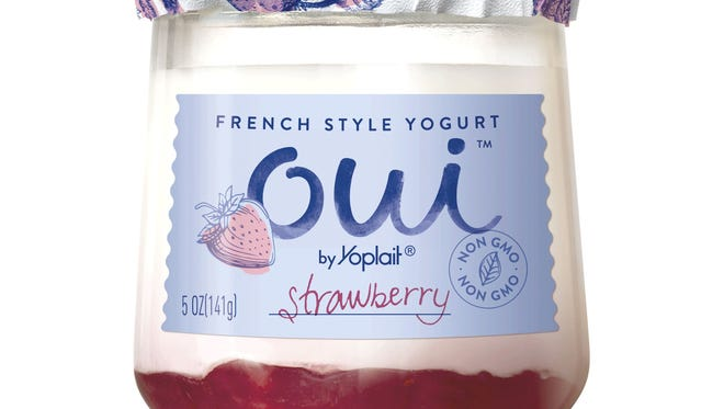Oui, a new French-style yogurt, will be available in grocery stores in July.