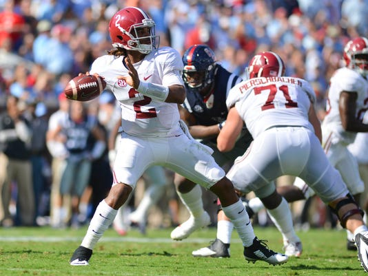 USP NCAA FOOTBALL: ALABAMA AT MISSISSIPPI S FBC USA MS