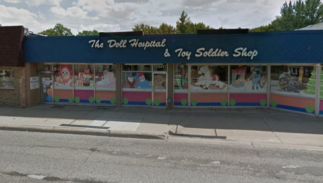 Doll Hospital & Toy Soldier Shop is located at 3947 Twelve Mile Rd in Berkley, Michigan.