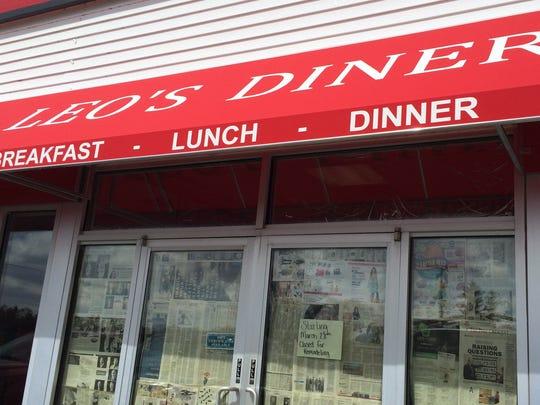 Greenville Cafe in Greenville was renamed Leo's Diner