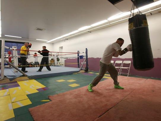 Tiberi boxing legacy continuing in Pike Creek gym