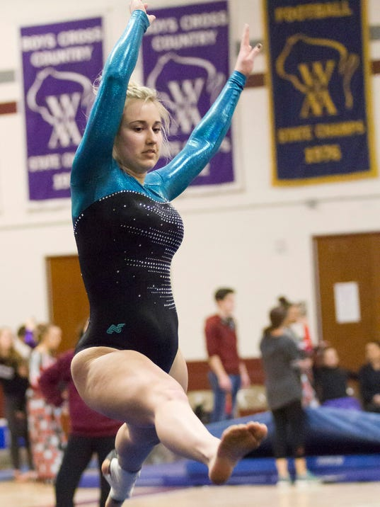 WIAA Sectional gymnastics