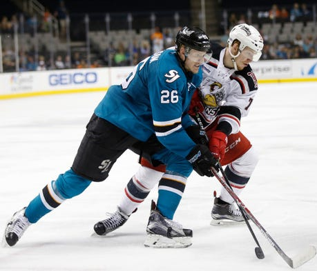 The San Jose power play went 3-for-5 Sunday night ...
