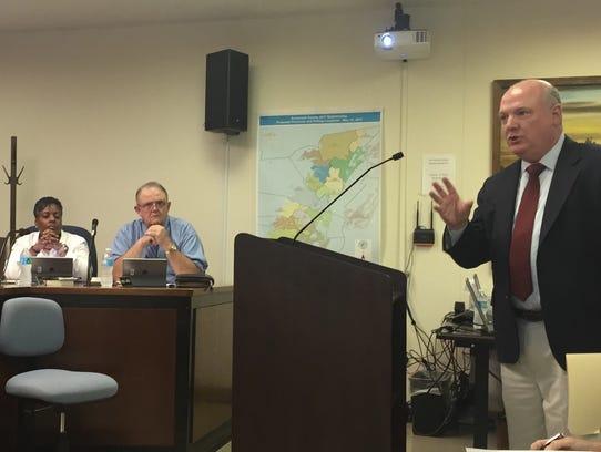 Terry L. Clower of George Mason University addresses