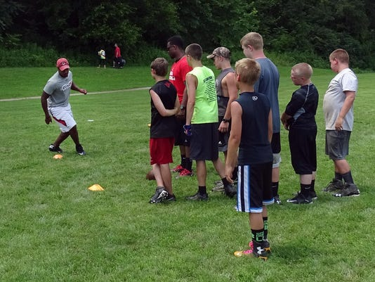 Morgan Football Camp
