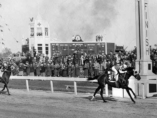Count Fleet finished first to win the 1943 Kentucky Derby and went on to win the Triple Crown.