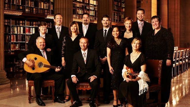 The Rose Ensemble will perform Sunday in St. Cloud.