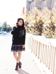 Beth Yang's fashions incorporate traditional Hmong