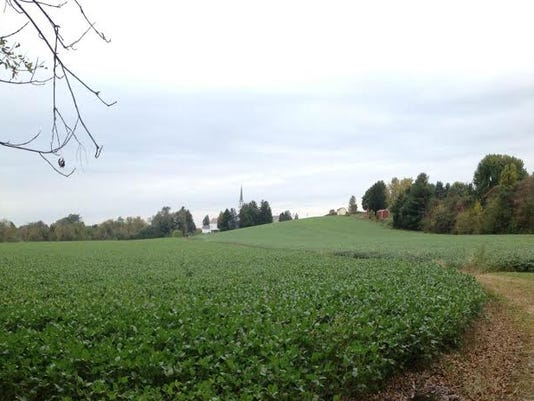 The Steve Smith family farm consists of 154.3 acres located in southeastern Adams County between New Oxford and the McSherrystown/Hanover area.