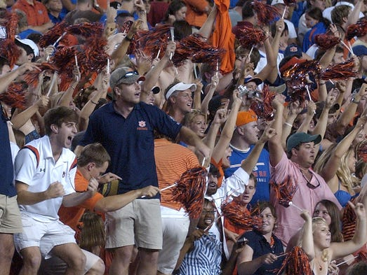 Auburn fans will have to wait until 2019 to go back to Ben Hill Griffin Stadium in Gainesville, Florida. The Tigers last went to the Swamp in 2007.