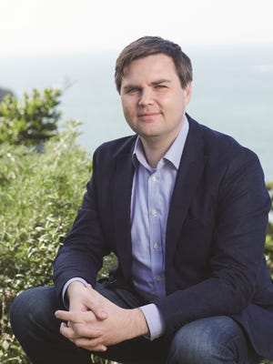 """J.D. Vance, author of """"Hillbilly Elegy: A Memoir of a Family and Culture in Crisis, will be at Purdue University Monday."""