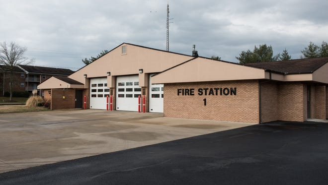 An exterior view of Fire Station One on Beaglin Park Drive on Thursday, Feb. 23, 2017.