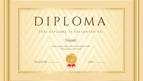 A diploma represents the end of one journey and the start of another