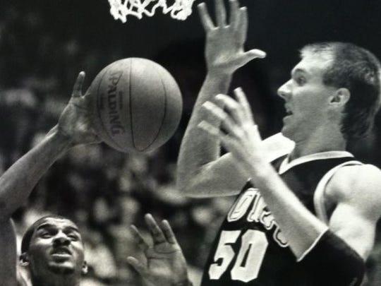 Matt Bullard, right, played at West Des Moines Valley
