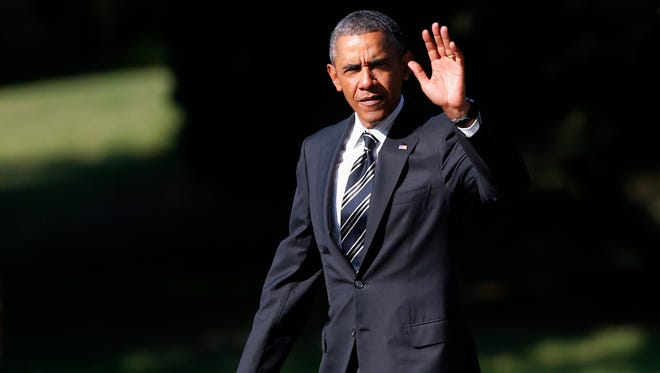 President Obama is on a two-day bus tour in the Northeast.