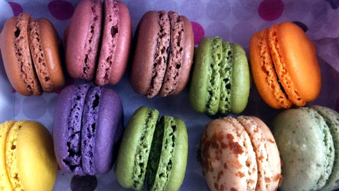 Le Macaron French Pastries features more than 20 flavors of macarons on a rotating basis at its new location in Coconut Point in Estero.