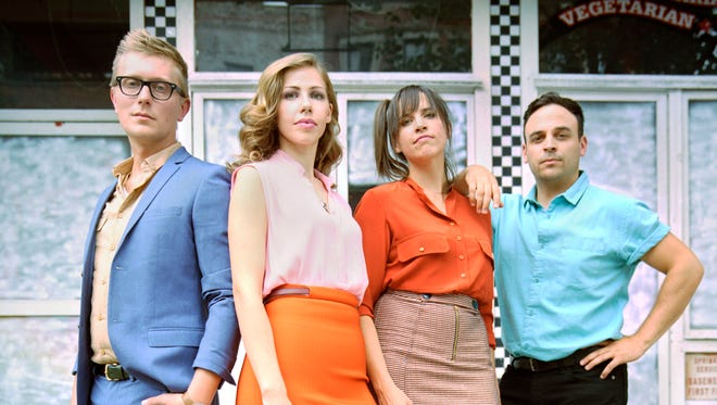Lake Street Dive, from left, Mike Olson, Rachel Price, Bridget Kearney and Mike Calabrese, will perform at the 2017 Clearwater festival.