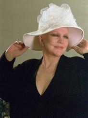 FILE - Singer Peggy Lee poses for a portrait on Nov.
