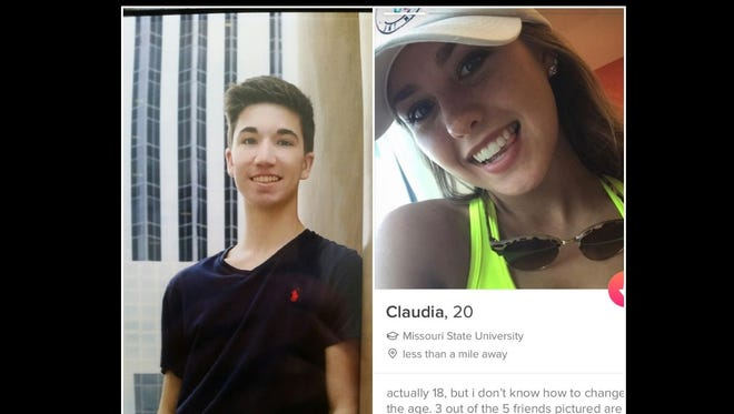Hayden Moll and Claudia Alley