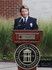 Franklin Police Chief Deb Faulkner