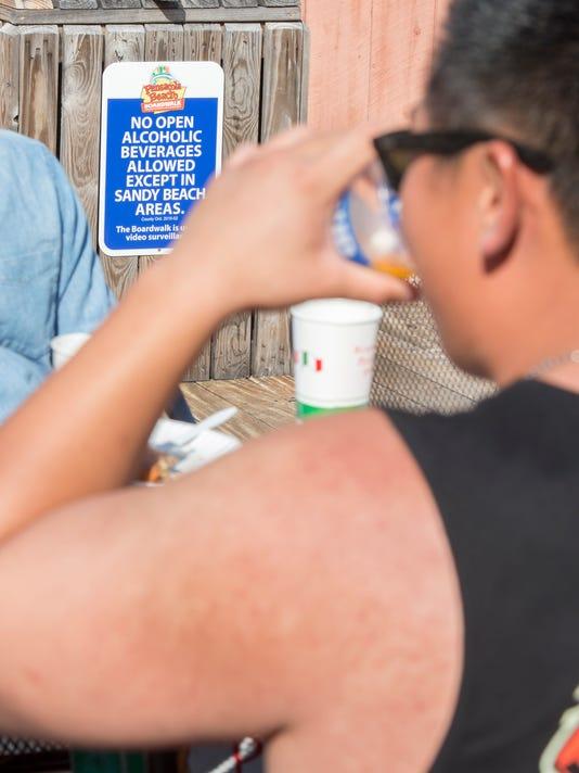 boardwalk alcohol ban