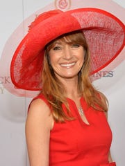 Actress Jane Seymour celebrates the 139th Kentucky Derby with Moet & Chandon at Churchill Downs on May 4, 2013.
