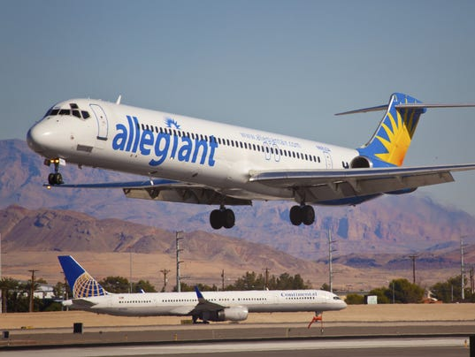 Allegiant Adds Flights From Mesa To Calif Wine Country