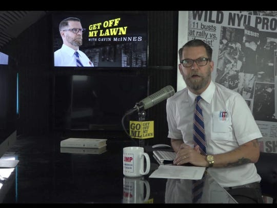 Right-wing provocateur Gavin McInnes says he founded