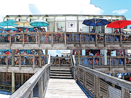 Navarre beach fishing pier santa rosa county selects four for Navarre beach fishing pier