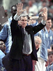 Smith coached the Tar Heels from 1961 to 1997.