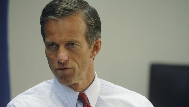 """South Dakota Sen. John Thune said the Obama administration's rule overseeing small bodies of water is """"one of the largest federal land grabs in history."""""""