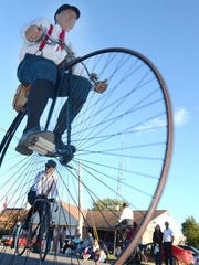 The Michigan Wheelmen will ride vintage bicycles, including