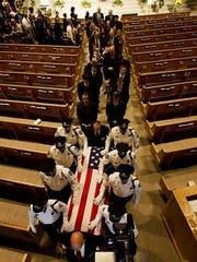 Andrew Widman's memorial service