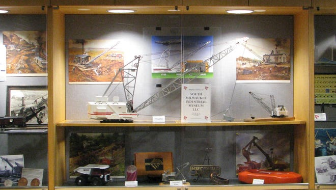 A group is working to preserve 130 years of Bucyrus heritage by recreating the Bucyrus Heritage Museum in South Milwaukee. The group is currently looking for funding assistance and a home for the museum. This was a display at the South Milwaukee Public Library.