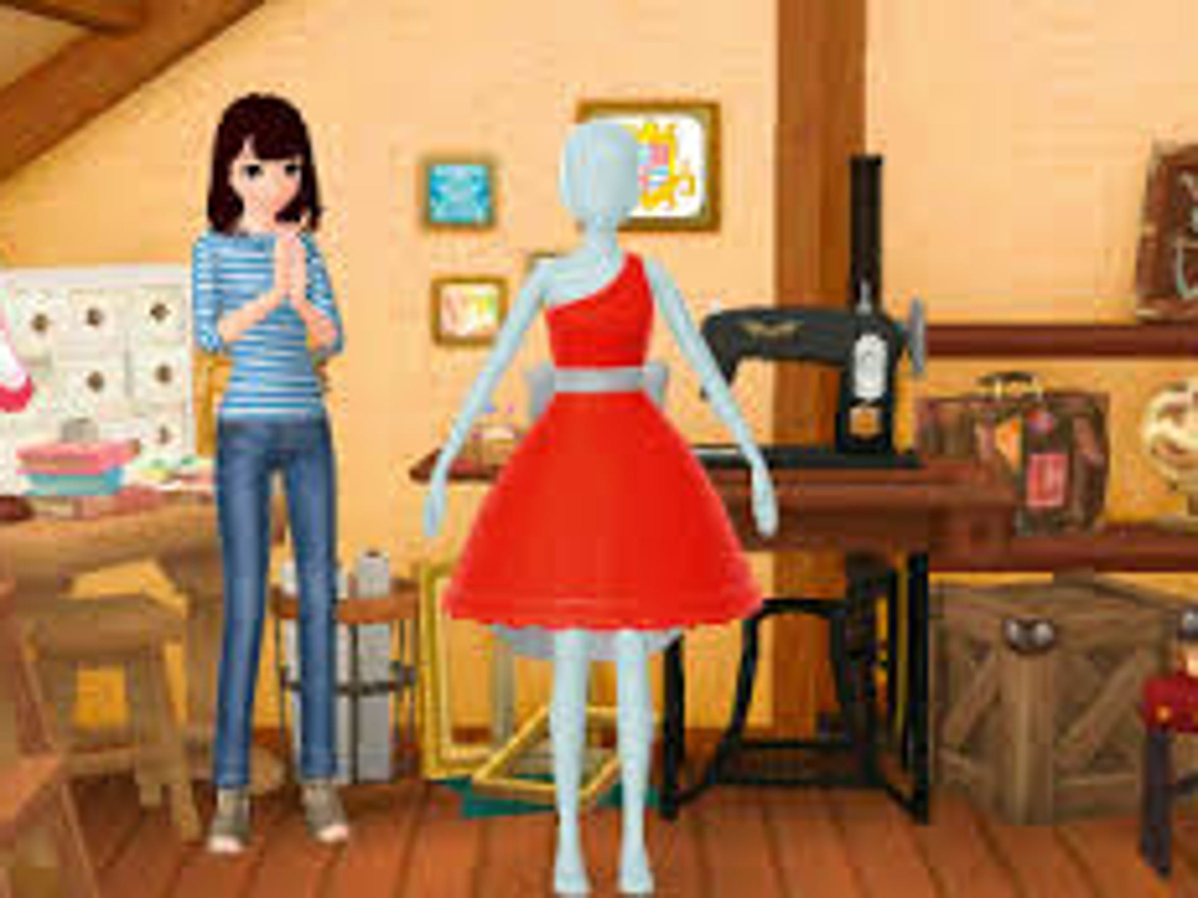 "Get in touch with your fashionista self in ""Style Savvy:"