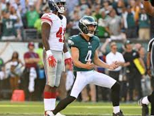 Jake Elliott, Eagles
