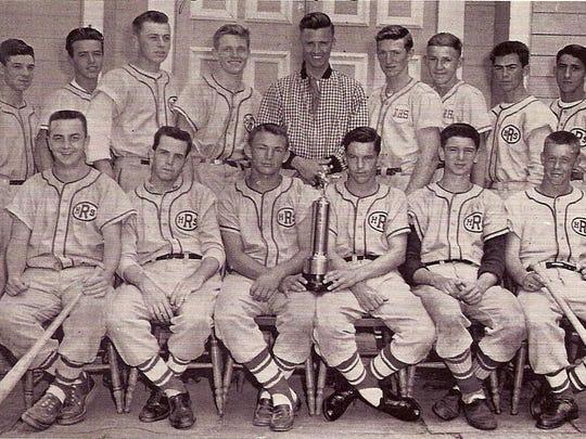A Richmond High School baseball team. Year unknown.