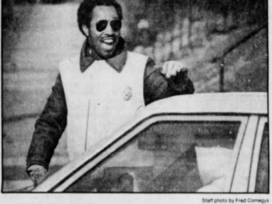Earl Tate, at age 32, was featured in a News Journal column by Al Cartwright in 1982, when Tate was a paid crossing guard.
