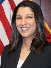 Deputy Attorney General Sonia Augusthy, head of the