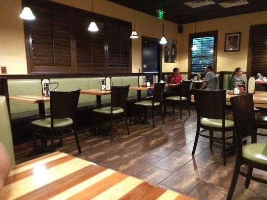 Giuseppe's Pizzeria and Italian Cuisine's dining area.The