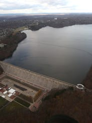 The Kenisco Dam in Valhalla and the Kensico Reservoir