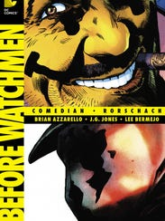 Before Watchmen cover