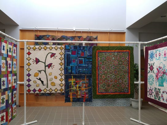 The Quilt and Textile Show continues through Friday
