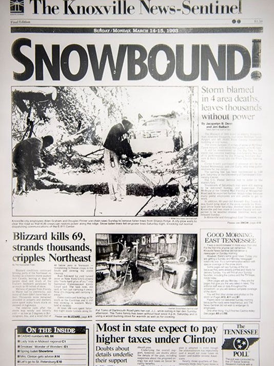 Blizzard of '93: Remembering the 'Storm of the Century' 26