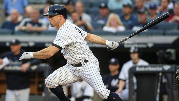 New York Yankees' Brett Gardner to remain out through Seattle Mariners series