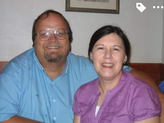 Robert Westerman with his wife.