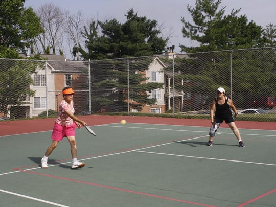 Pickleball is a paddle sport combining elements of tennis, badminton and ping-pong that is played on a court smaller than a tennis court.