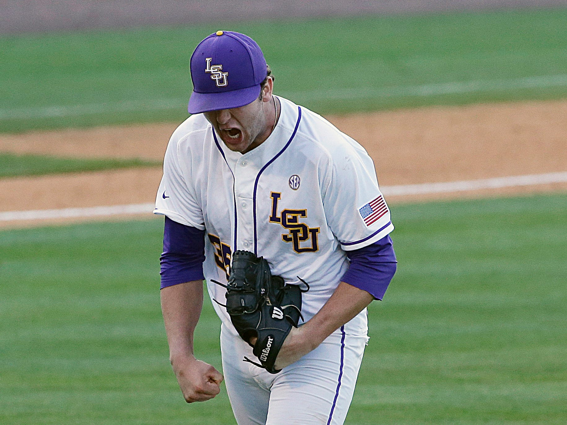 LSU freshman pitcher Alex Lange, who is 10-0 on the season, says the Tigers can't afford to look past anyone this weekend or they could lose a home regional for the second consecutive season.